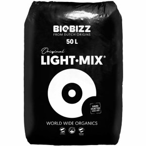 BioBizz LIGHT-MIX mit Perlite, 50 L