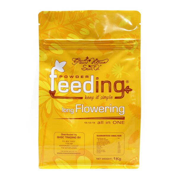 Green House Seed Powder Feeding long Flowering 1 kg