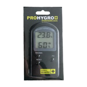Garden HighPro ProHygro Hygro- Thermometer Basic