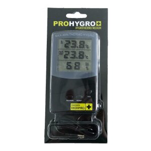 Garden HighPro ProHygro Hygro- Thermometer Medium
